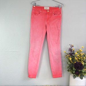 Rachel Rachel Roy ombré skinny jeans rose gold